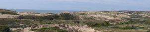 panorama vers les dunes et le fort d'ambleteuse