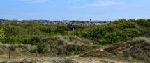 dune de slack vue sur wimereux